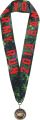 "Lanyard Satin Medal Sublimation - 7/8"" width x 36"""